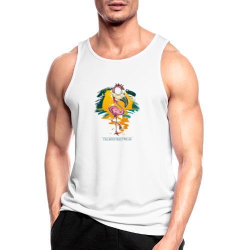 Flamingo Weirdo - Männer Tank Top atmungsaktiv