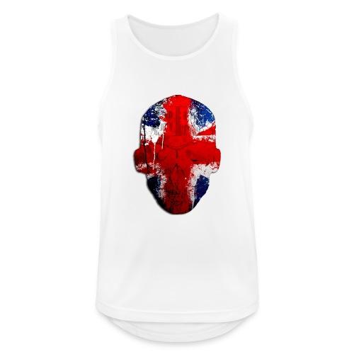 Borg recordings uk Union flag MetaSkull T Shirt - Men's Breathable Tank Top