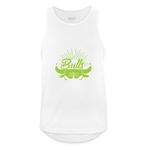 Toros verdes, Bulls BasketBall deporte - Camiseta sin mangas hombre transpirable