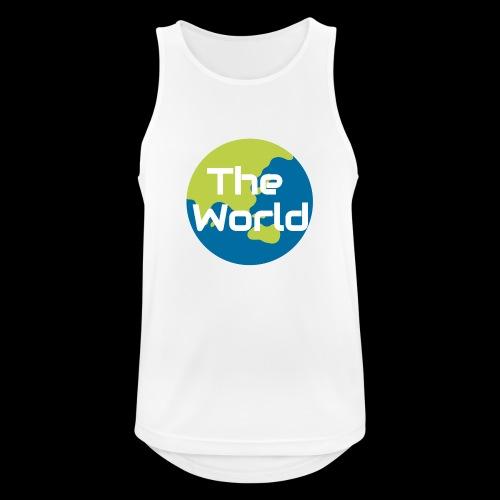 The World Earth - Herre tanktop åndbar