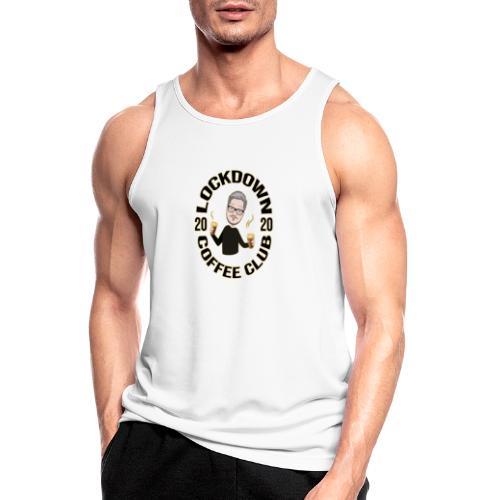Lockdown Coffee Club 2020 - Men's Breathable Tank Top