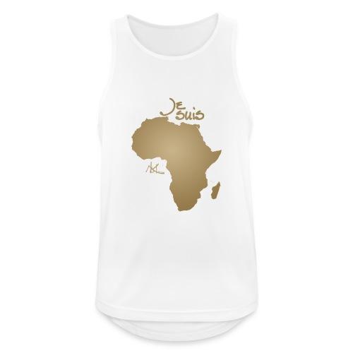 Je suis Afrique / Je suis Aklaaa - Débardeur respirant Homme