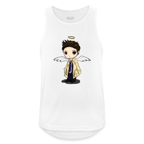 Team Castiel (dark) - Men's Breathable Tank Top