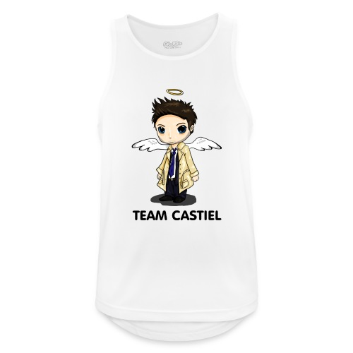 Team Castiel (light) - Men's Breathable Tank Top