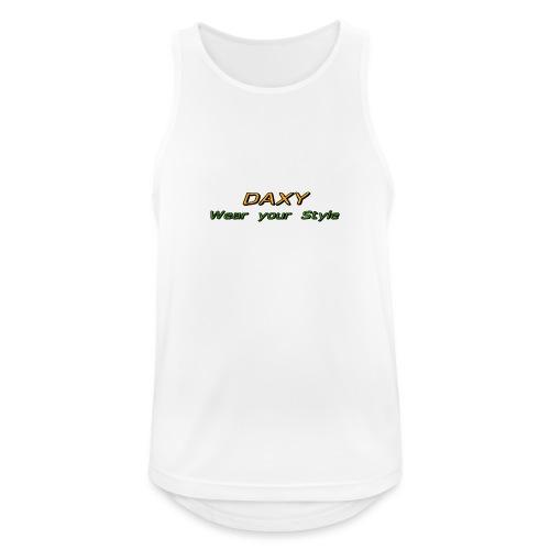 Herren Sixpack Shirt von DAXY - Männer Tank Top atmungsaktiv