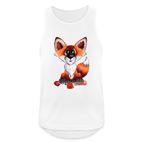 llwynogyn - a little red fox - Men's Breathable Tank Top