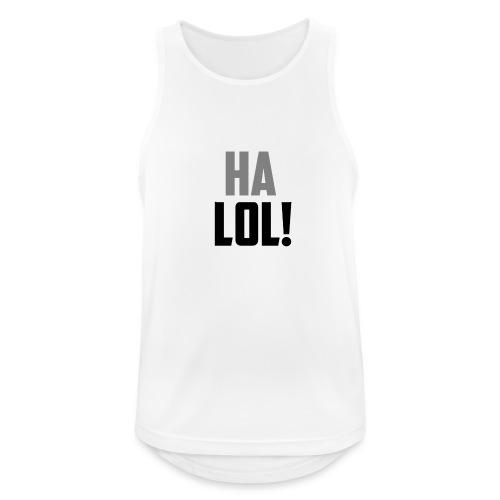 The CrimsonAura 'Ha LOL!' Stream Quote. - Men's Breathable Tank Top