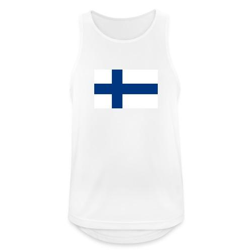 800pxflag of finlandsvg - Miesten tekninen tankkitoppi