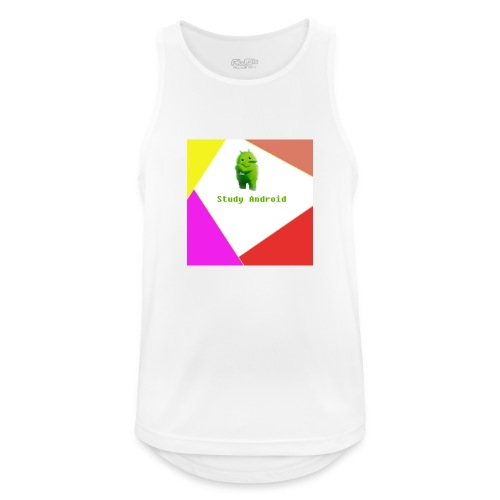 Study Android - Camiseta sin mangas hombre transpirable