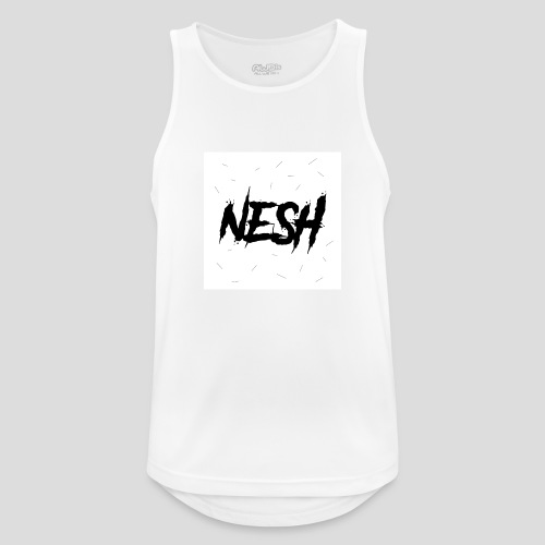 Nesh Logo - Männer Tank Top atmungsaktiv