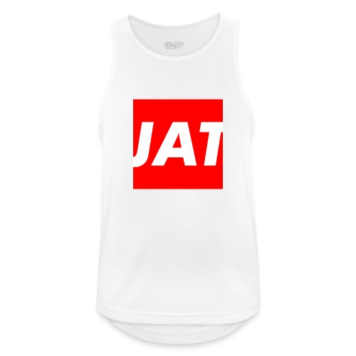 Merch: JT Red - Männer Tank Top atmungsaktiv
