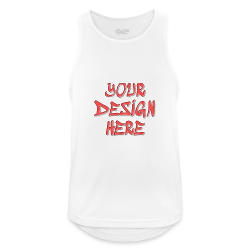 TextFX - Men's Breathable Tank Top