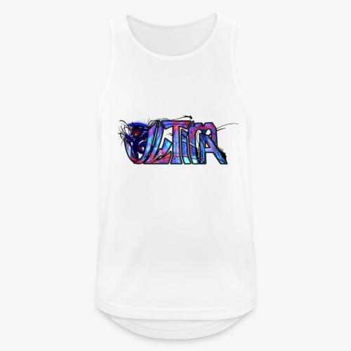 ultima logo t shirt design by toxic sparkle d5rx9e - Miesten tekninen tankkitoppi