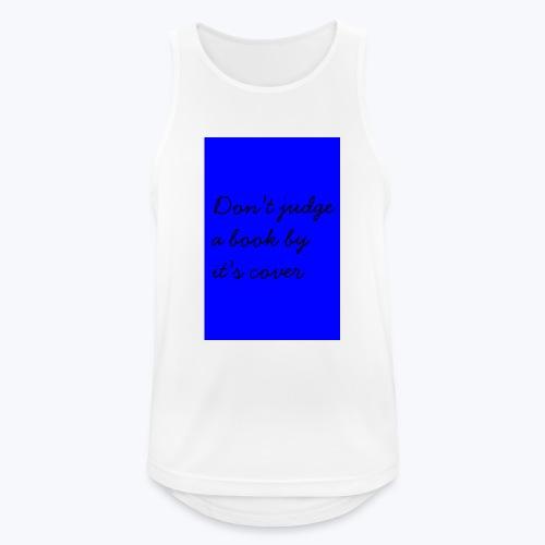 BLUE DJABBIC - Andningsaktiv tanktopp herr