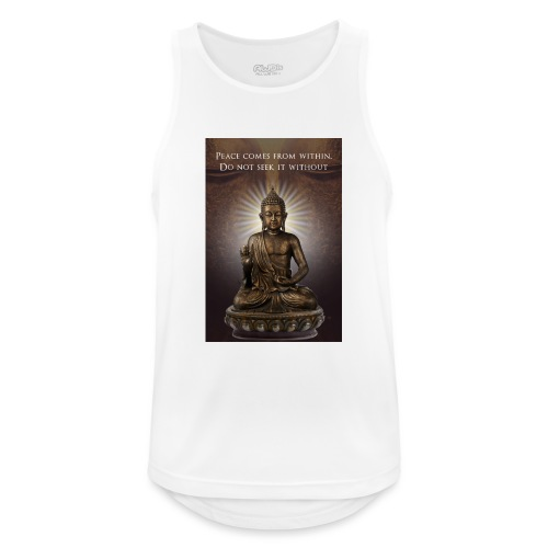 Peace from Within - Men's Breathable Tank Top