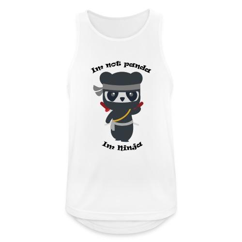 Non sono un Panda - Canotta da uomo traspirante