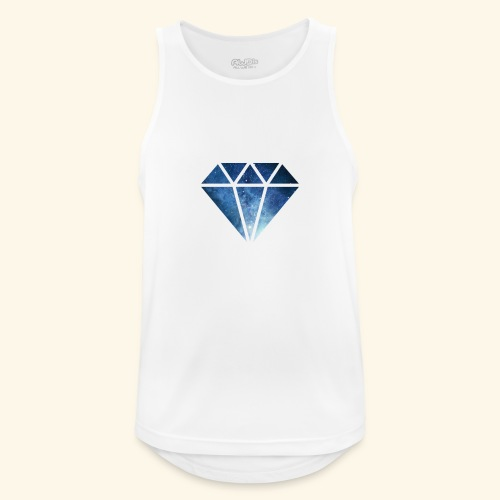 Galaxie Diamant - Männer Tank Top atmungsaktiv