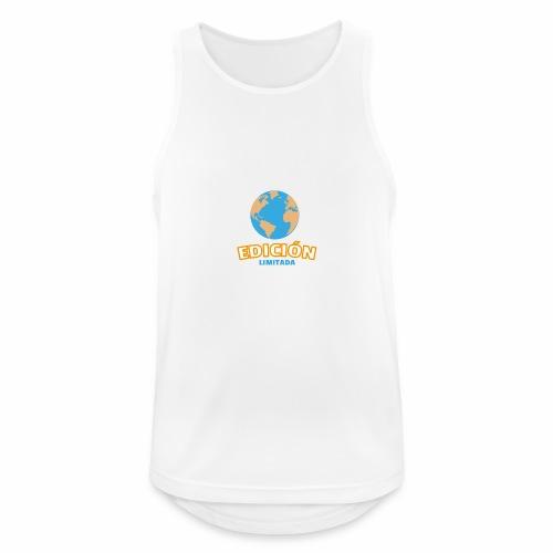 Edición Limitada - Camiseta sin mangas hombre transpirable