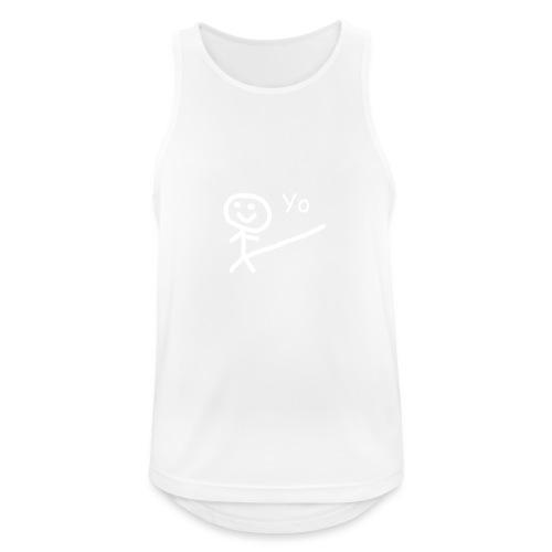 Cami Yo - Camiseta sin mangas hombre transpirable