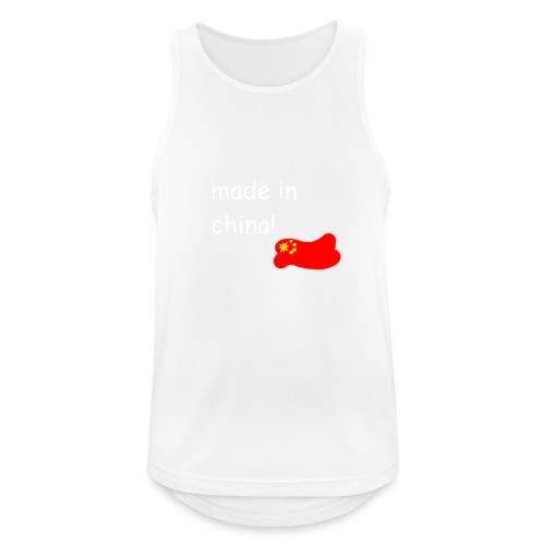 madeinchina - Camiseta sin mangas hombre transpirable