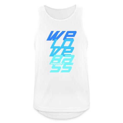 WeLoveBass08 - Männer Tank Top atmungsaktiv
