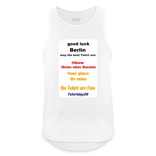 INTERNATIONAL09 - Men's Breathable Tank Top