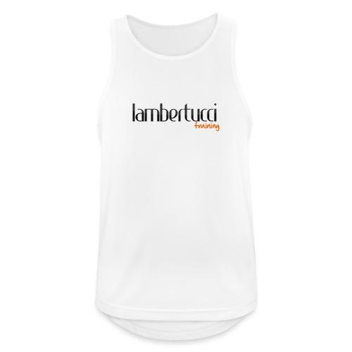Logo Lambertucci Training - Männer Tank Top atmungsaktiv