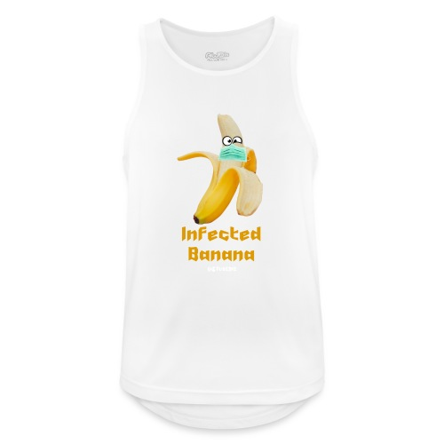 Die Zock Stube - Infected Banana - Männer Tank Top atmungsaktiv