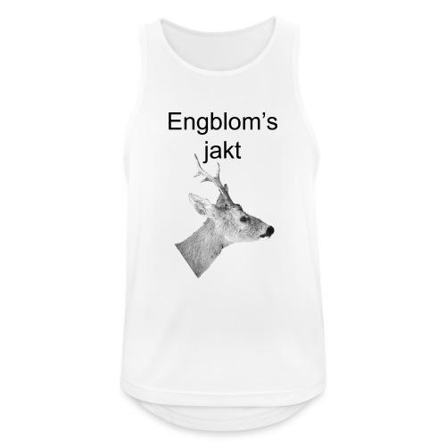 Officiell logo by Engbloms jakt - Andningsaktiv tanktopp herr
