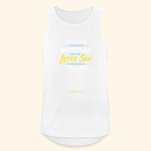Extremadamente Felices - Camiseta sin mangas hombre transpirable