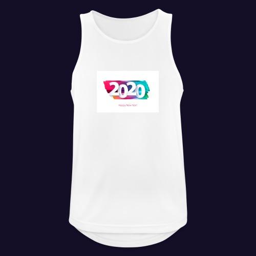Happy new year 2020 - Männer Tank Top atmungsaktiv