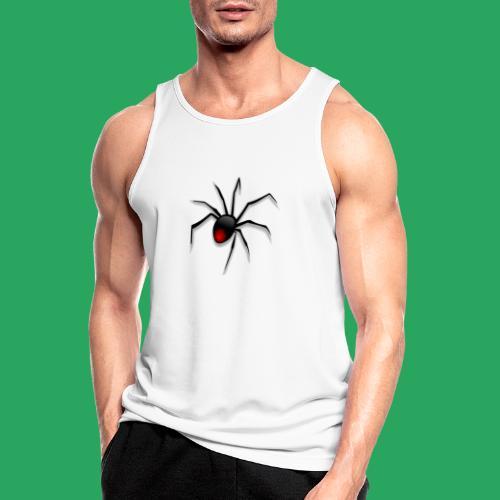 spider logo fantasy - Canotta da uomo traspirante