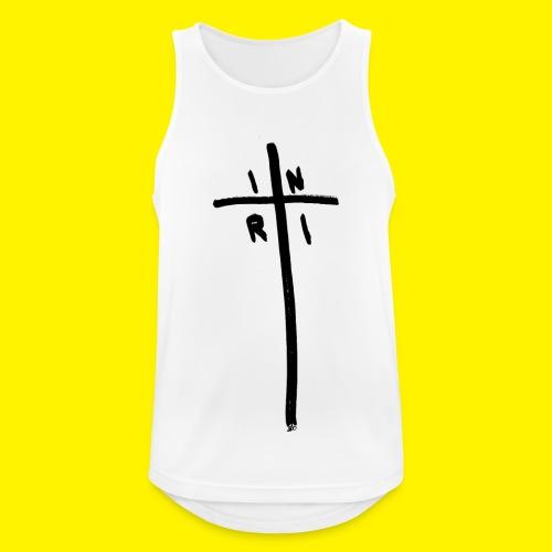 Cross - INRI (Jesus of Nazareth King of Jews) - Men's Breathable Tank Top