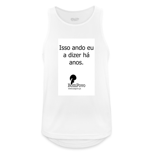 issoandoeuadizerhaanos - Men's Breathable Tank Top