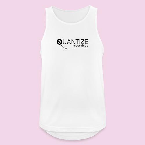 Quantize Black Logo - Men's Breathable Tank Top