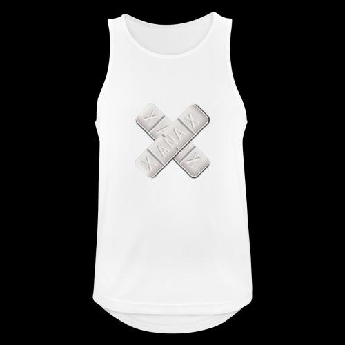 Xanax X Logo - Männer Tank Top atmungsaktiv