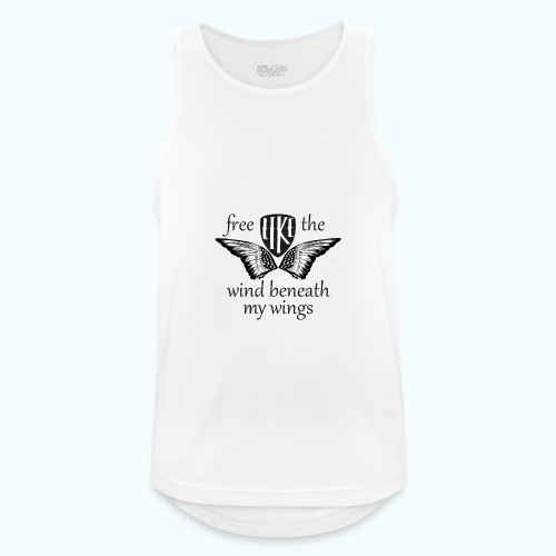Free like the wind beneath my wings - Men's Breathable Tank Top