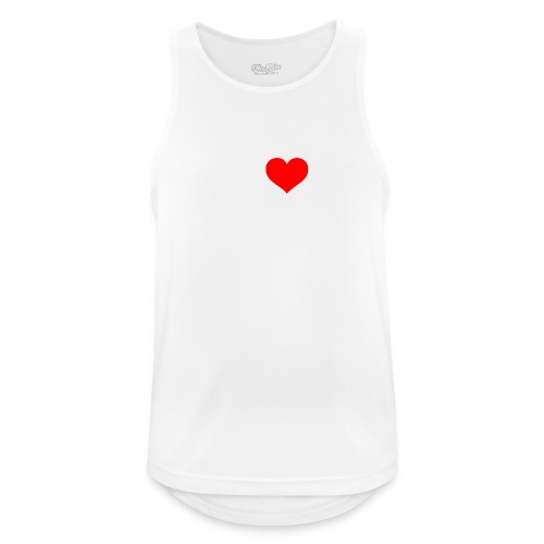 I Love Combat - White Font - Men's Breathable Tank Top