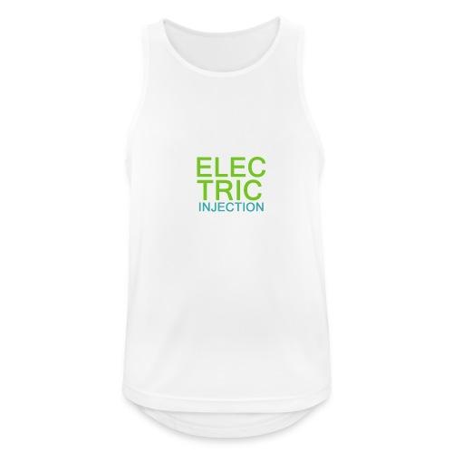 ELECTRIC INJECTION basic - Männer Tank Top atmungsaktiv