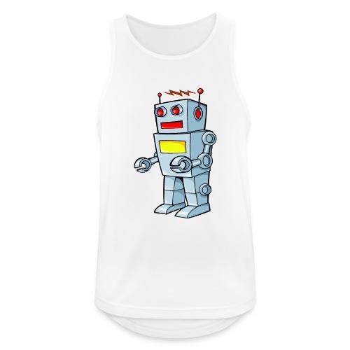 Robot - Canotta da uomo traspirante