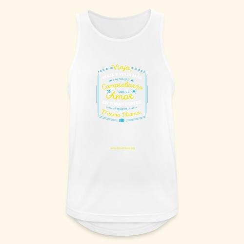 VIAJA - Camiseta sin mangas hombre transpirable