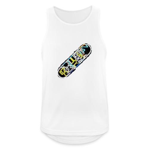 SkateFire #2 (MatteFShop Original) - Canotta da uomo traspirante