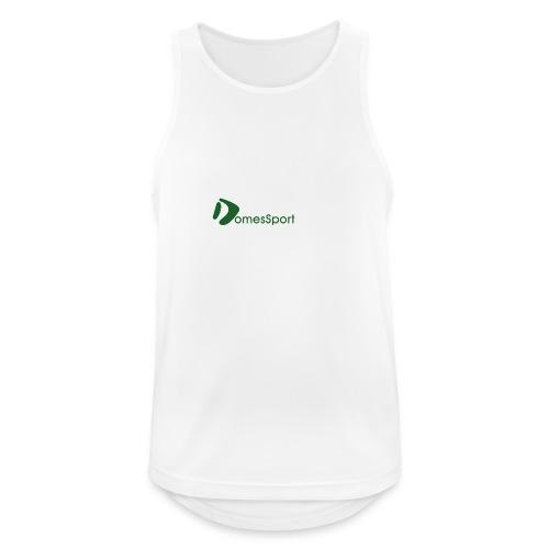 Logo DomesSport Green noBg - Männer Tank Top atmungsaktiv