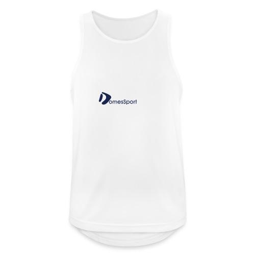 Logo DomesSport Blue noBg - Männer Tank Top atmungsaktiv