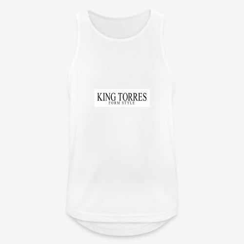 king torres - Camiseta sin mangas hombre transpirable