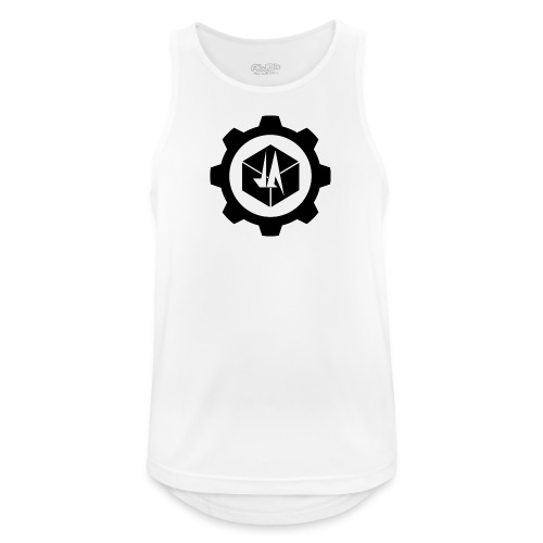 Jebus Adventures Logo (Transparent) - Men's Breathable Tank Top