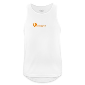 Logo DomesSport Orange noBg - Männer Tank Top atmungsaktiv