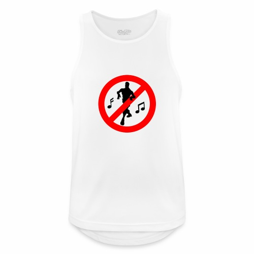 No Dancing Allowed - Men's Breathable Tank Top