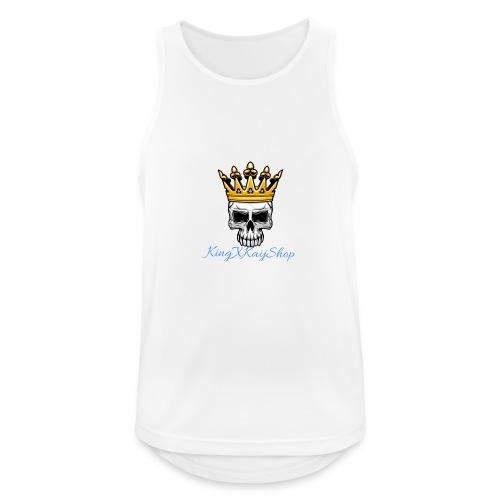 KingKaij Logo - Männer Tank Top atmungsaktiv