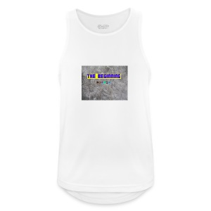 The Beginning - Men's Breathable Tank Top